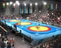 Wrestling at the Commonwealth Games, courtesy of Designhive/Glasgow 2014