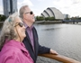 Passengers enjoying a river trip on the River Clyde