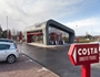 Costa Coffee drive thru is open for business