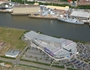 Aerial view of Xscape at Renfrew Riverside