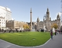 Artist impression of how George Square will look before the Commonwealth Games in 2014