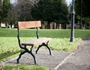 New seating in Dalmuir Park