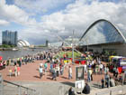 The Glasgow River Festival at Pacific Quay