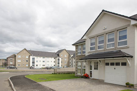 Castle Quay homes in Dumbarton