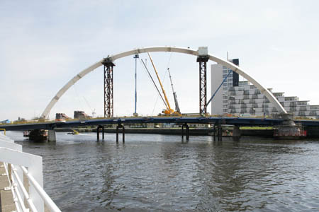 The arch takes shape
