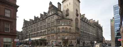 The award-winning Glasgow Central Hotel