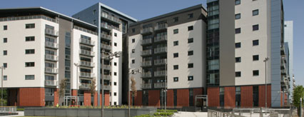 Apartments at Glasgow Harbour phase 1