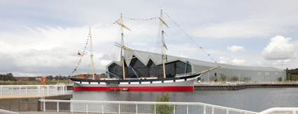 The Riverside Museum opened in the summer of 2011