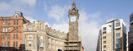 Tolbooth repair and preservation works underway