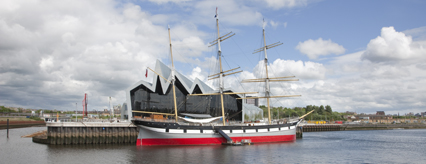 The Tall Ship at the Riverside Museum