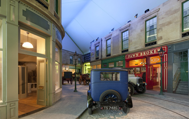A Victorian Street has been recreated at the new Riverside Museum
