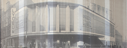 The Lyceum in its heyday