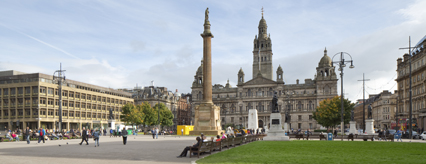 George Square in Glasgow