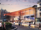 Impression of how Queen Street station could look when completed