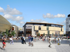 Artist impression of how the new shopping centre could look