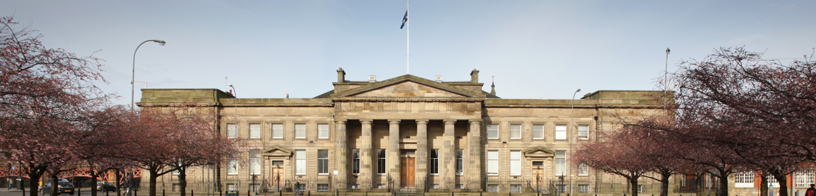 The Justiciary Courthouse at Glasgow Green