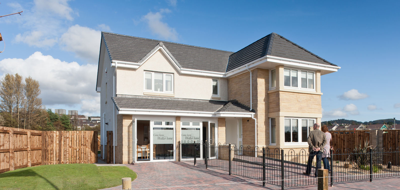 Lomondgate homes, Dumbarton